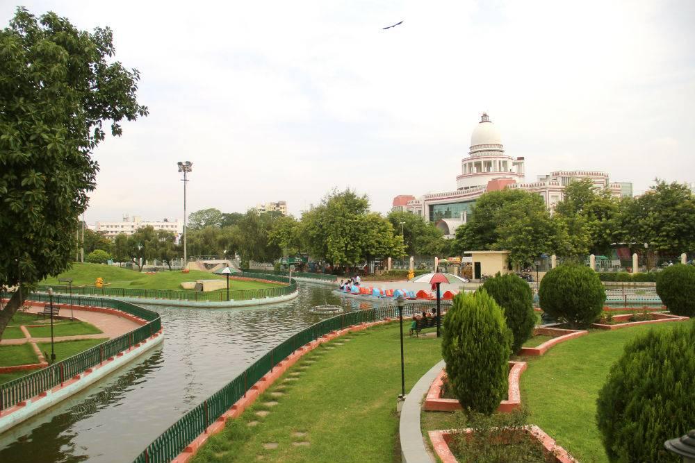 Image result for गौतम बुद्ध पार्क-lucknow