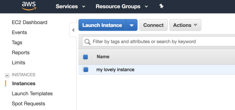 Creating Your First Ec2 Instance