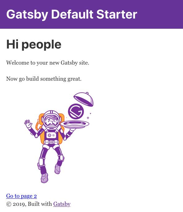 El astronauta de Gatsby