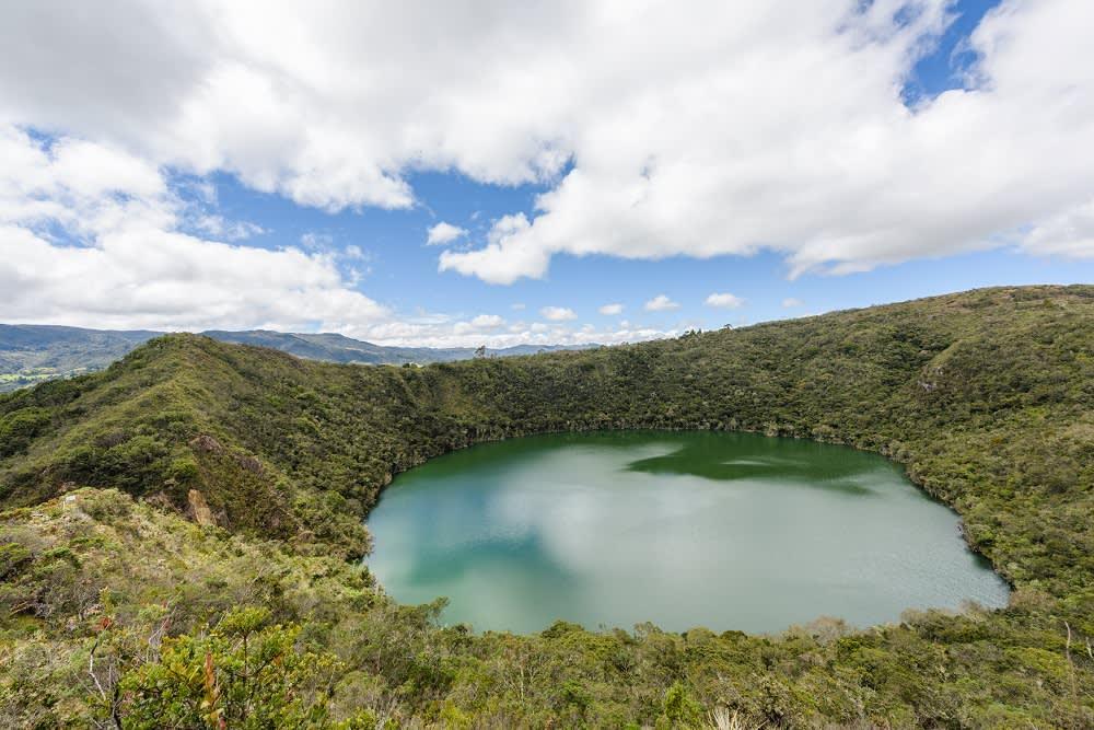 Lake Guatavita, Kolumbien