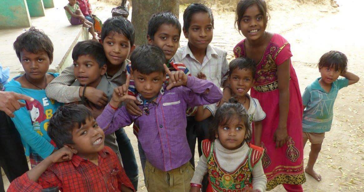 Kinder in Indien