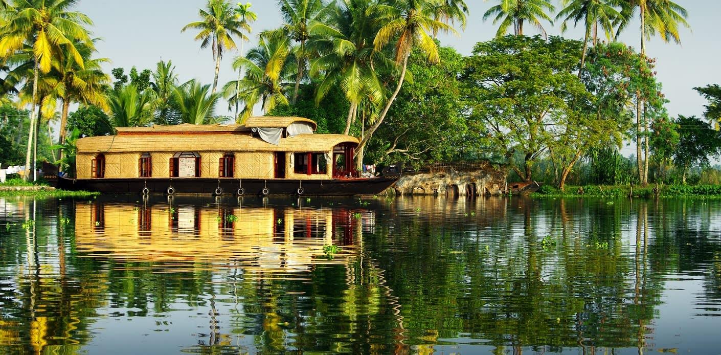 Die Backwaters von Kerala