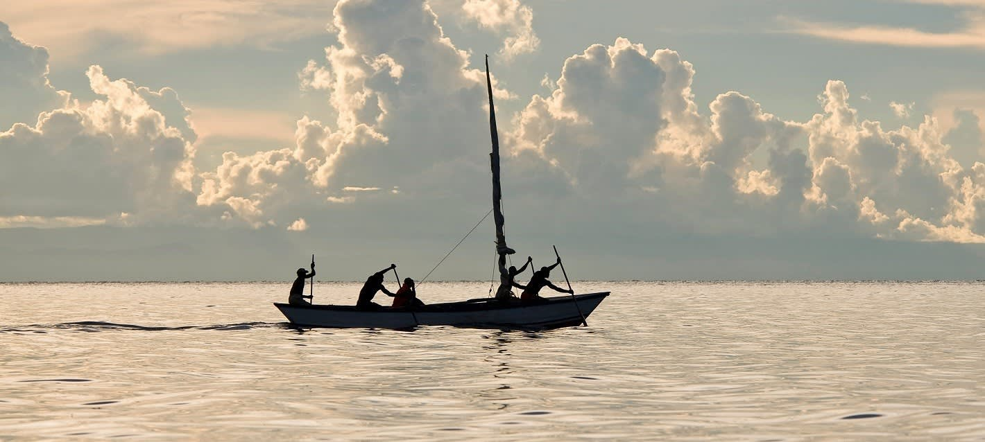 Fischer auf dem Malawisee