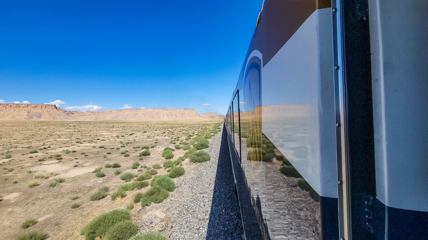 Rocky Mountaineer train to Moab