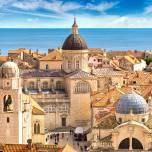Altstadt von Dubrovnik an einem Sommertag, Kroatien