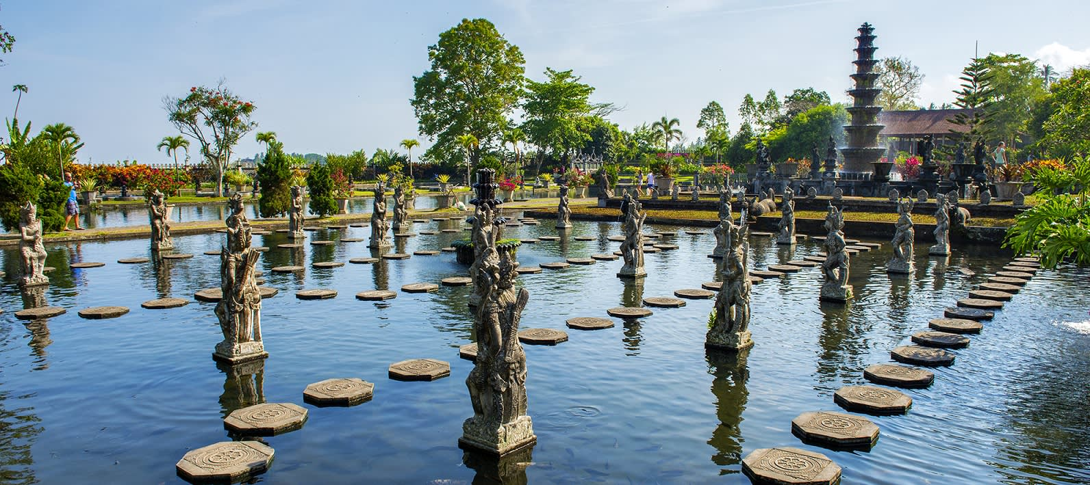 Things to do in Indonesia - visit the Tirtagangga temple - Indonesia travel guide