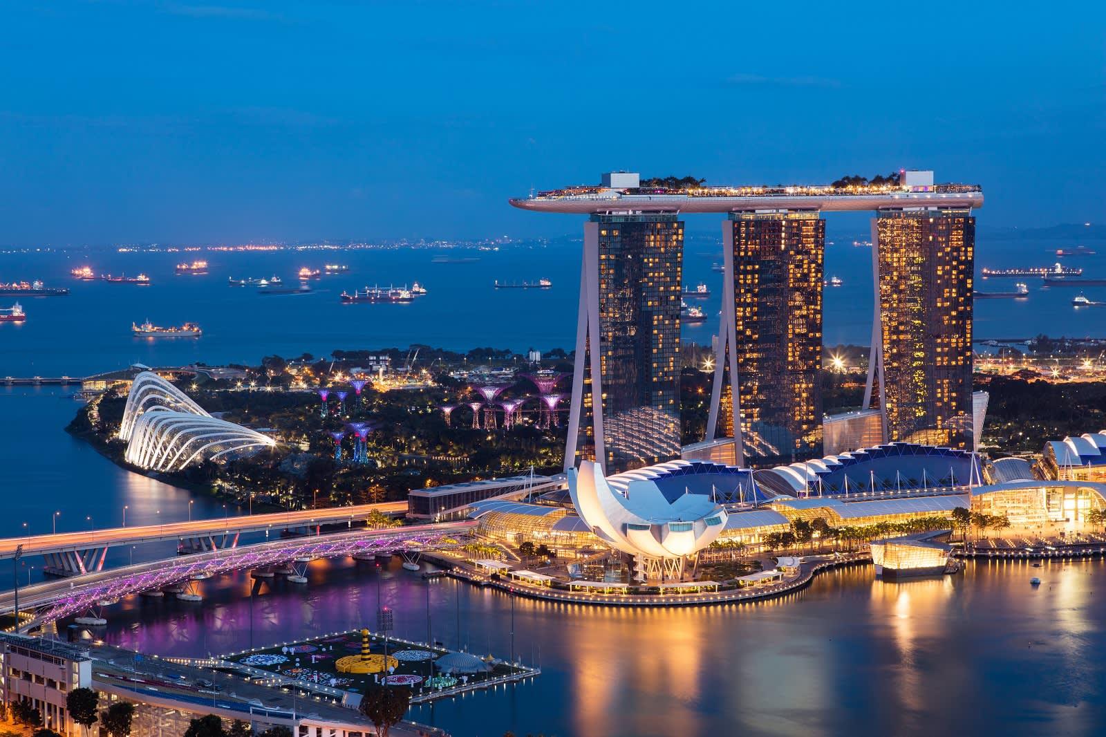 Enchanting Travels Asia Tours Singapore Tourism Marina bay
