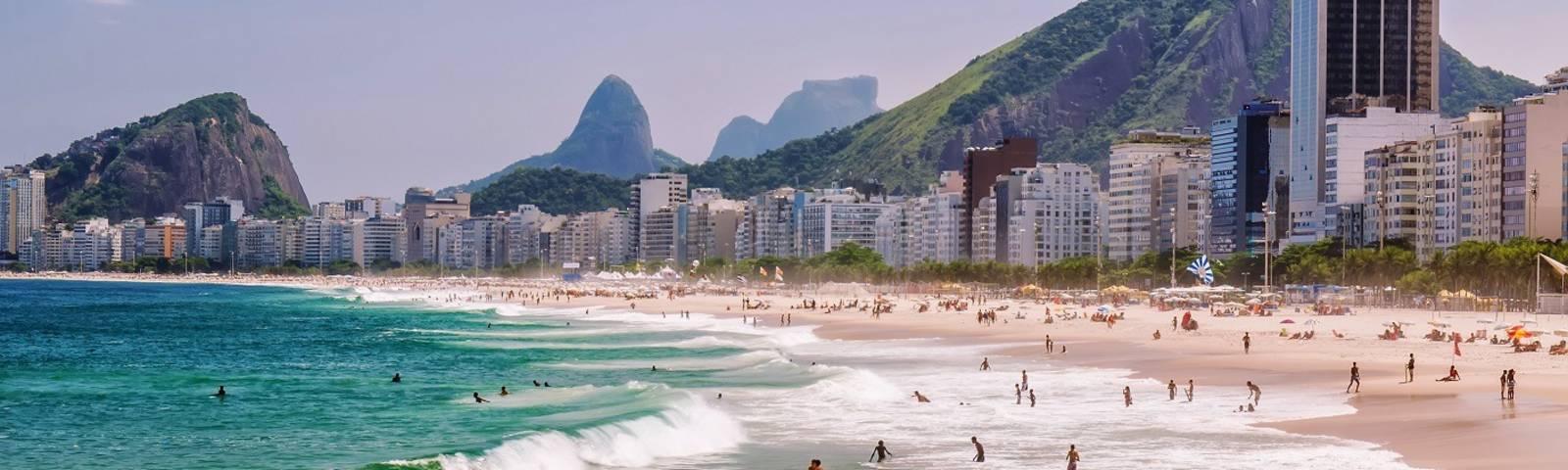 Die Strände gehören zu den beliebtesten Sehenswürdigkeiten in Rio de Janeiro