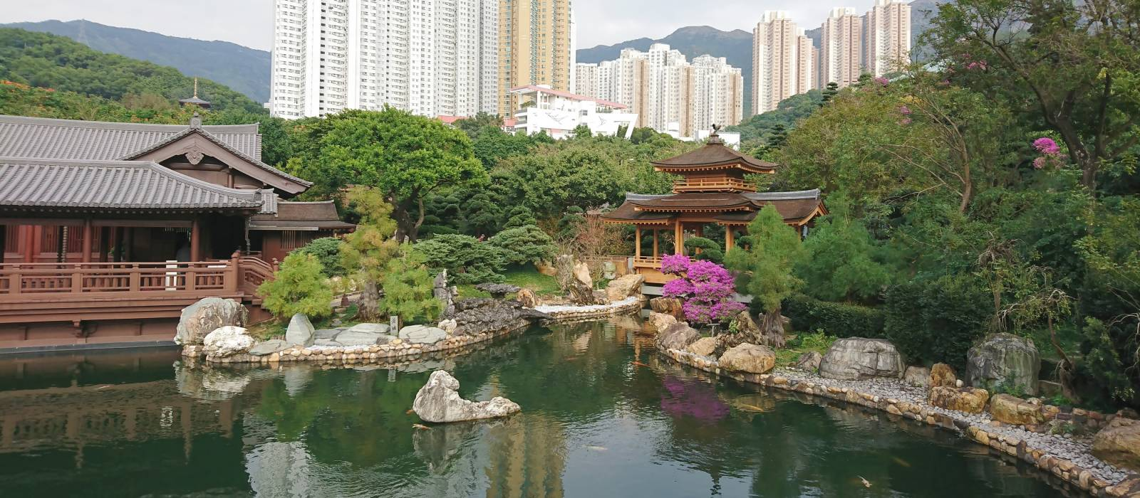 Nan Lian Garden at Kowloon Hong Kong, Asia