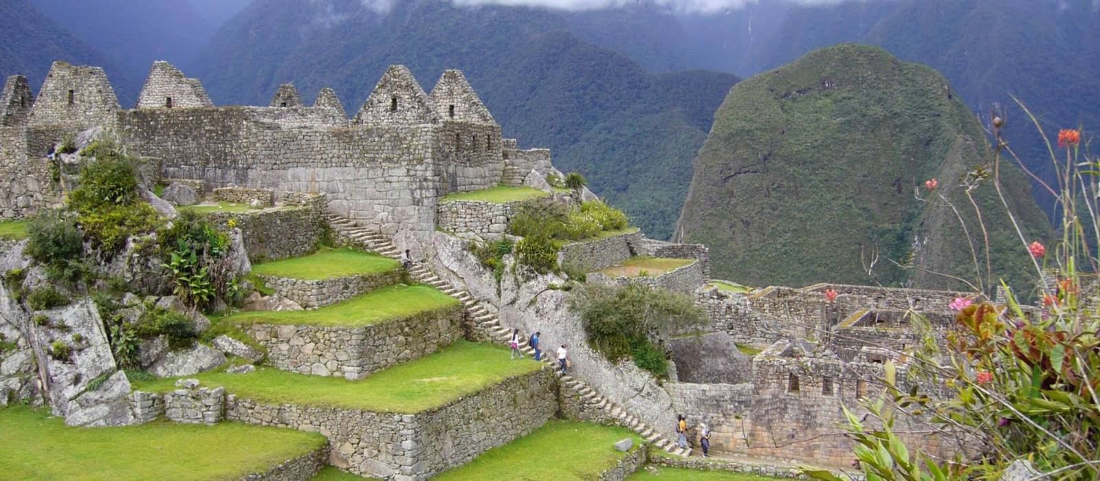 Ancient Inca city of Machu Picchu, Peru panoramic landscape, South America