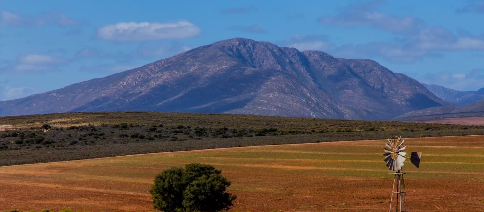 Landschaft von Karo in Südafrika