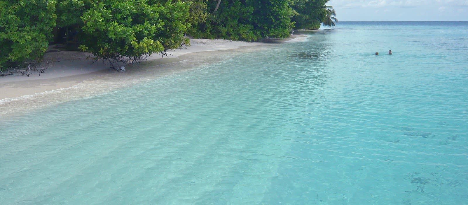 Strand auf Malediven