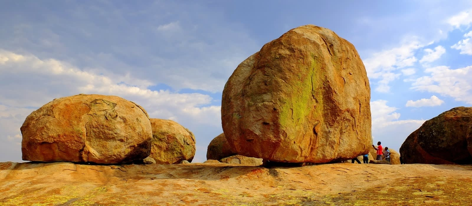 The famous rock formations of Matopos in Zimbabwe, Africa