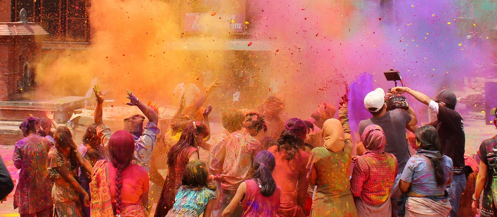 Enchanting Travels India Tours India Holi