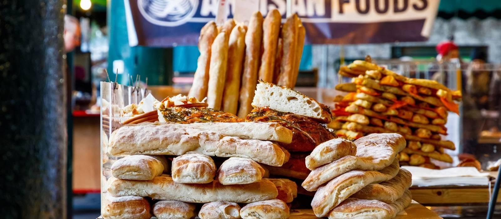 Cuisine in UK & Ireland - artisanal food