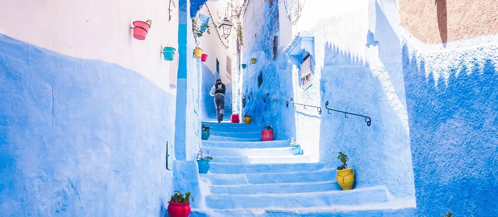 Enchanting Travels Morocco Blue city