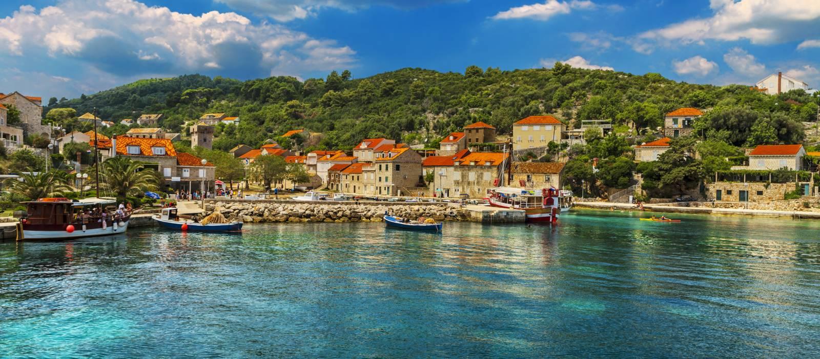 Insel Elaphiti, Dalmatien, Kroatien
