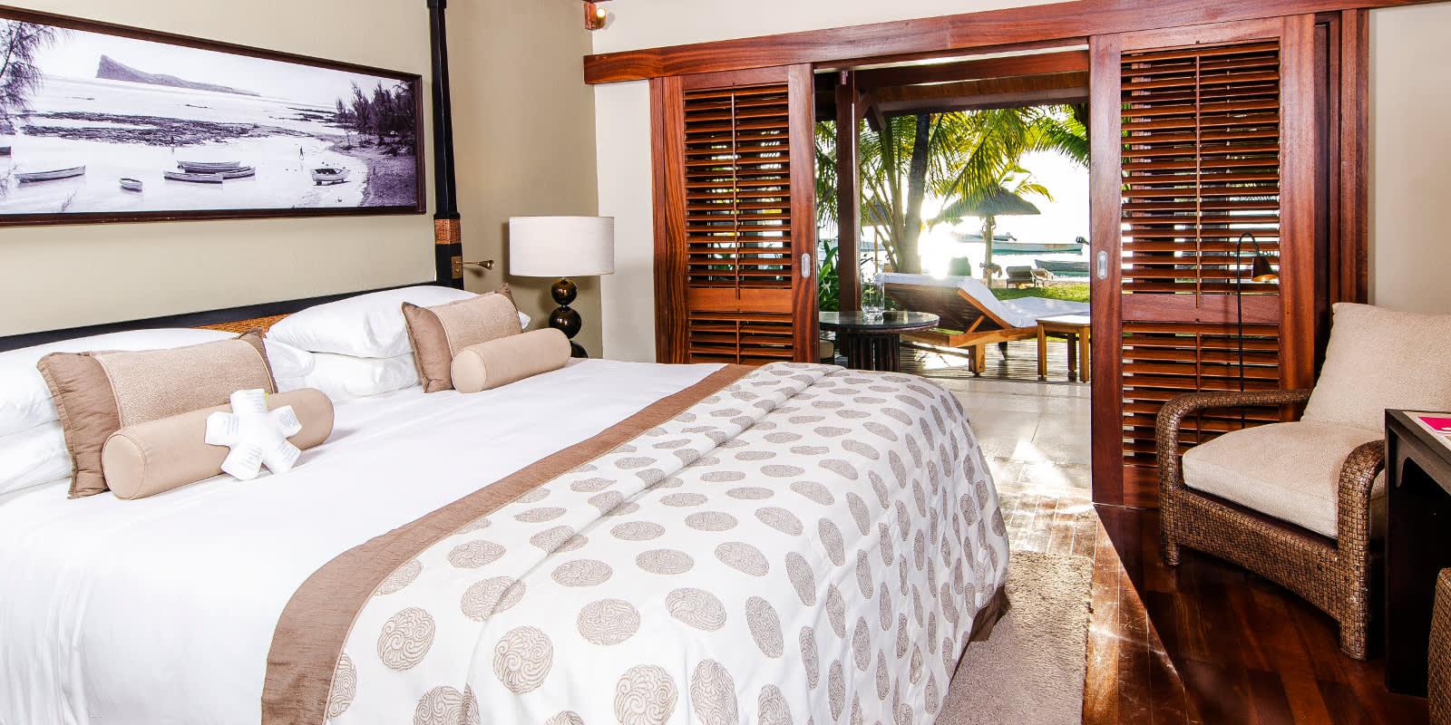 Zimmer des LUX* Le Morne, Mauritius