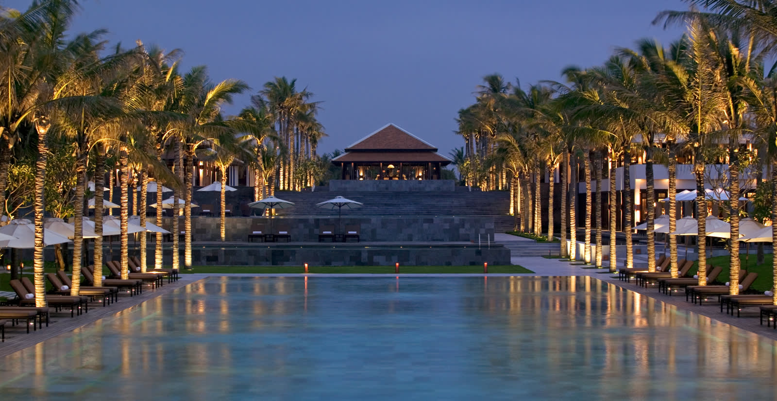 Pool im Hotel Four Seasons Resort