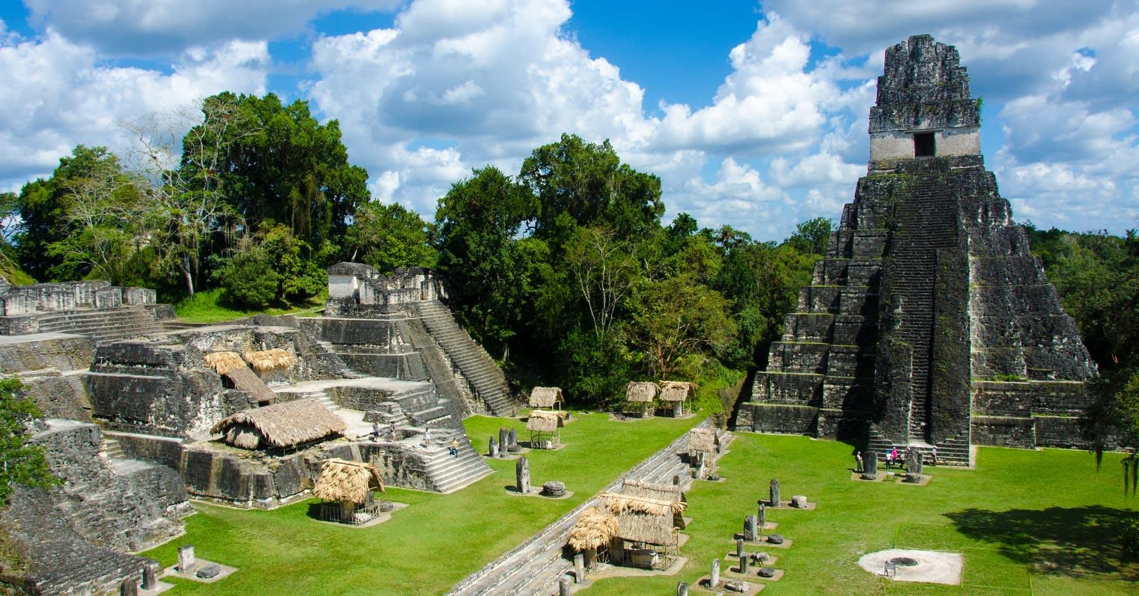 Maya Ruinen von Tikal, Guatemala