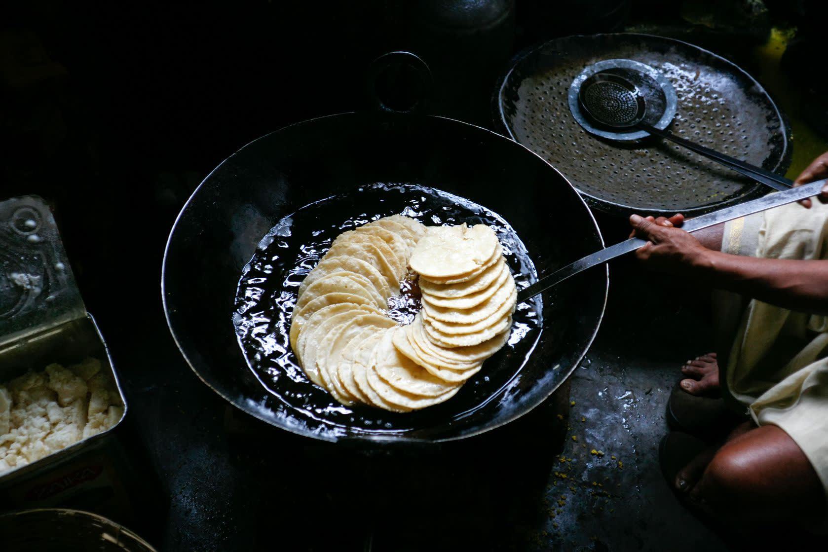 Chapatis - typisches Streetfood auf Indienreisen