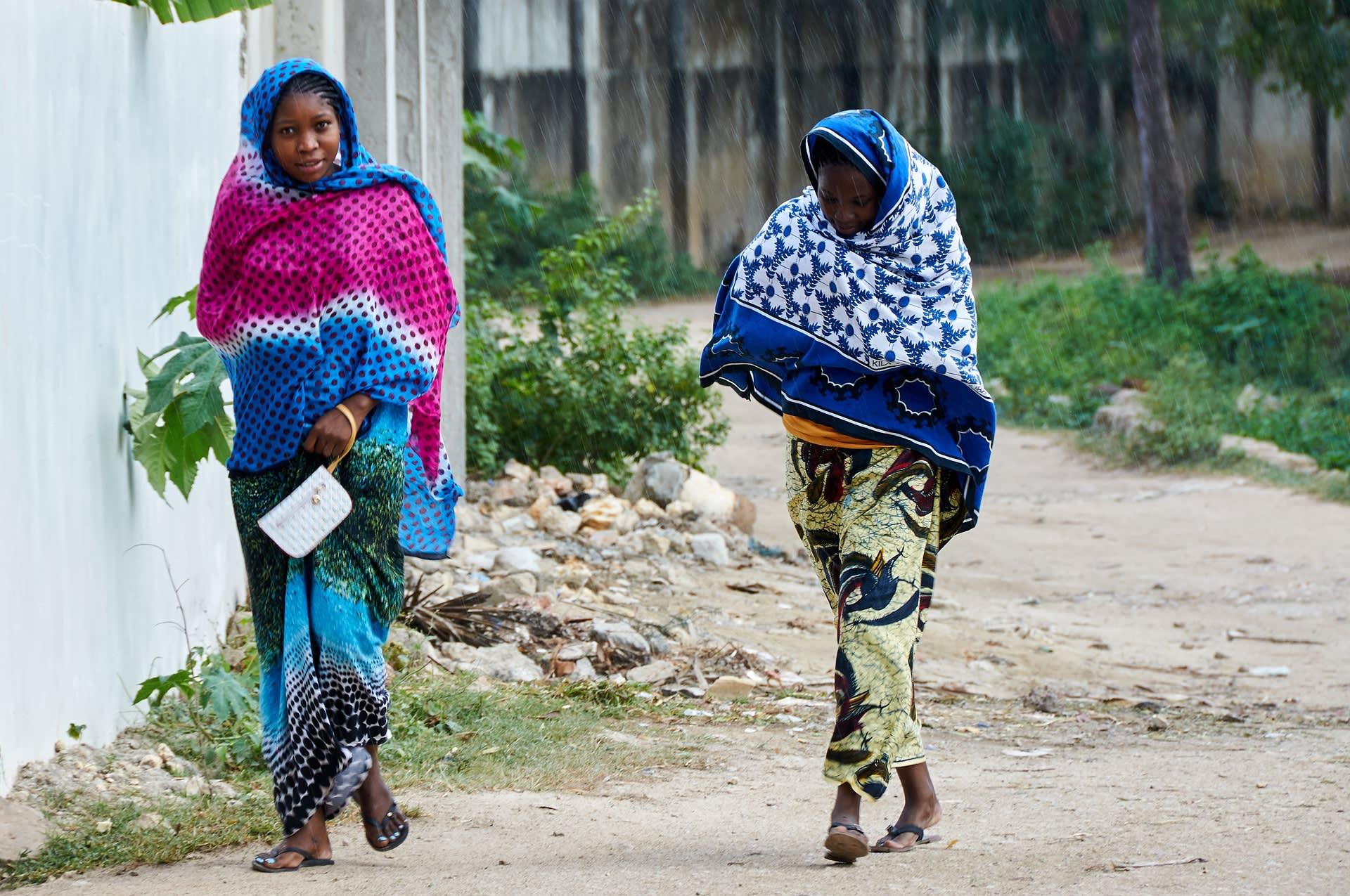 Muslimische Frauen auf Sansibar