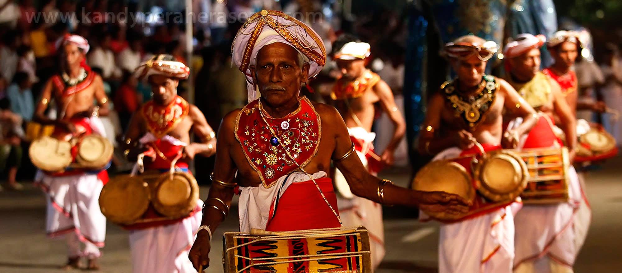 Kandy Perahera Festival  in Sri Lanka
