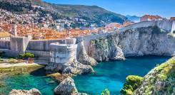 Stadtmauern von Dubrovnik, Kroatien
