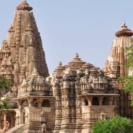Khajuraho temple in Panna, Central & West India