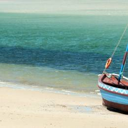 Dhow Strand in Mosambik