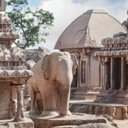 Enchanting Travels South India Tours Mamallapuram Temple