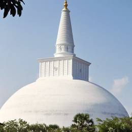 Beeindruckende Tempelanlage in Anuradhapura, Sri Lanka