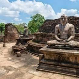 Sri Lanka Travel Tips - Ancient Buddha statue of temple ruins in ancient city of Polonnaruwa, Sri Lanka, Asia, shutterstock_147899873