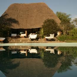 Exterior room at Semliki Safari Lodge in Semliki, Uganda