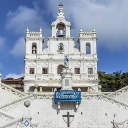Portuguese Church, Goa, India, Asia