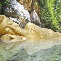 Enchanting Travels Laos Tours SleepingBuddha_LuangPrabang_Laos