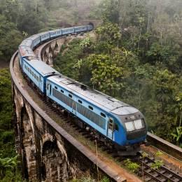 The Nine Arches Bridge Demodara is one of the iconic bridges in Sri Lanka, Asia