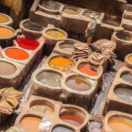 Fes is famous for its tanneries