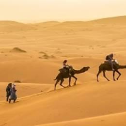 Erg Chebbi in Morocco