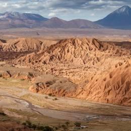 Wonderful Catarpe valley, San Pedro De Atacama, Chile