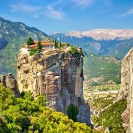 Griechenland Sehenswürdigkeiten: Meteora-Klöster