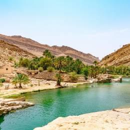 Things to do in Oman- Wadi Bani Khalid