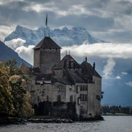 Things to do in Switzerland - visit Chillon in Switzerland Alps