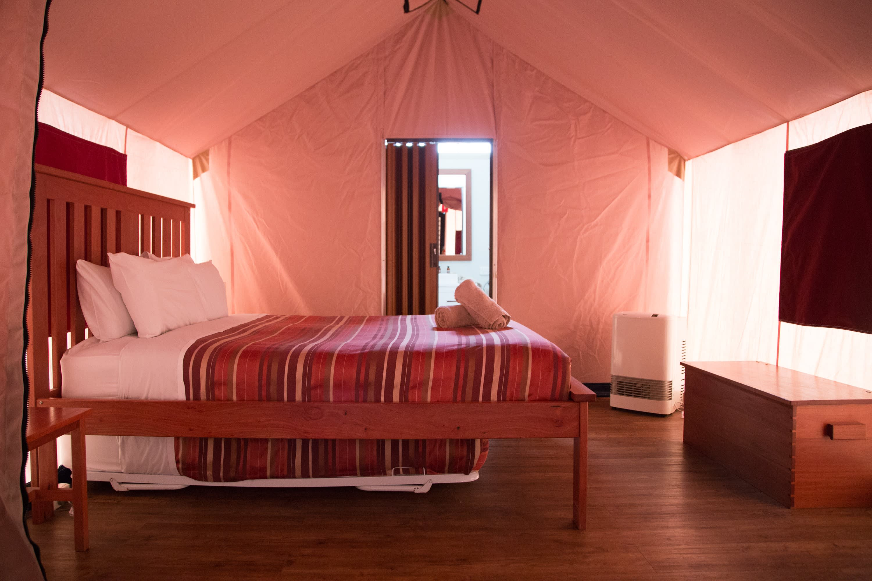 Zimmer eines Camps