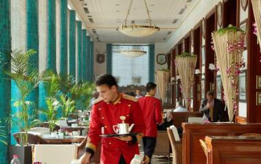 Imperial service in the hotels