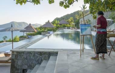 Pood im Hotel Amankila, Bali