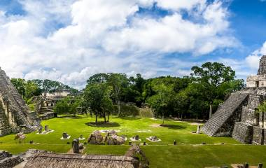 Enchanting Travels Guatemala ToursMayan Temples of Gran Plaza or Plaza Mayor at Tikal National Park