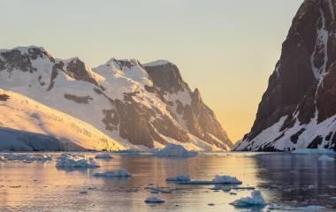 Lemaire Channel Antarktische Halbinsel, Antarktis
