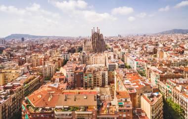 Spanische Stadt
