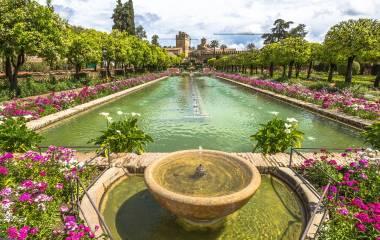 Gärten in Cordoba